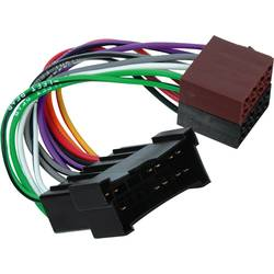 iso-adapter z moškim konektorjem Hama ISO für Kia / Hundai