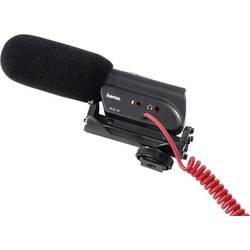 Hama RMZ-18 Mikrofon za kamero Vklj. zaščita pred vetrom, Montažni nastavek