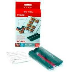 Canon Selphy Photo Sticker Pack KC-18IL 7740A001 photo printer caRtRidge 18 List