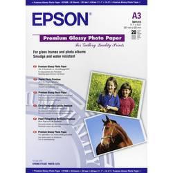 Epson Premium Glossy Paper A3 C13S041315 Foto papir DIN A3 20 List Sijajni