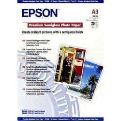 Epson Premium Semigloss Paper A3 C13S041334 Foto papir DIN A3 251 gm² 20 List Svilnato sijajni