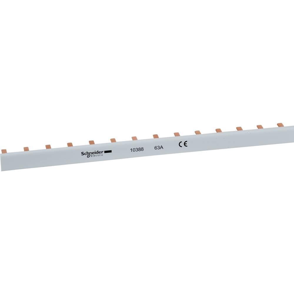 Fazna letev Svetlo siva 3-polni 10 mm² 63 A 230 V/AC Schneider Electric 10391