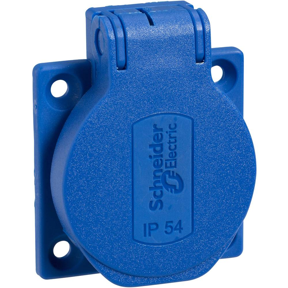 Vgradna vtičnica IP54 Modra Schneider Electric PKS51B