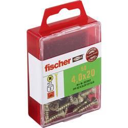 Fischer 653942 vijaki z vgrezno glavo 4 mm 20 mm križni pozidriv galvansko pocinkan 50 kos