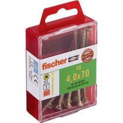 Fischer 653951 vijaki z vgrezno glavo 4 mm 70 mm križni pozidriv galvansko pocinkan 10 kos