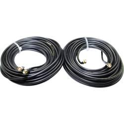 Wittenberg Antennen Podaljševalni kabel Duo 2x5m Moški konektor SMA Ženski konektor SMA