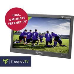 Prenosna televizija 25.6 cm 10.1  Xoro PTL 1050 Vklj. freenet TV za 6 mesecev, Delovanje na baterije, Vklj. 12V avtomobilski na