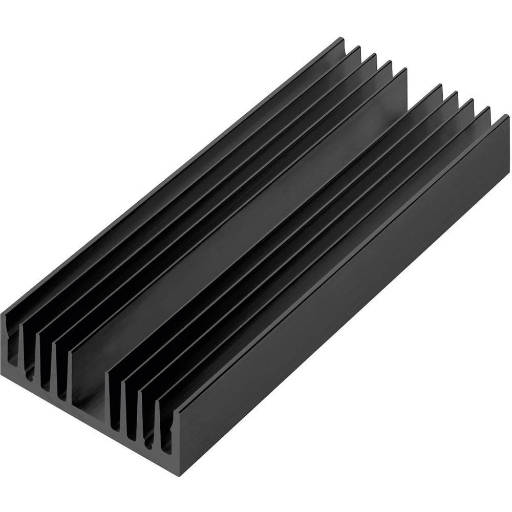 Profilno hladilno telo 4.45 K/W (D x Š x V) 100 x 60 x 20 mm Pada Engineering 8495/100/N