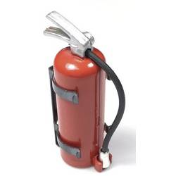 Absima 1:10 gasilni aparat z nosilcem rdeča