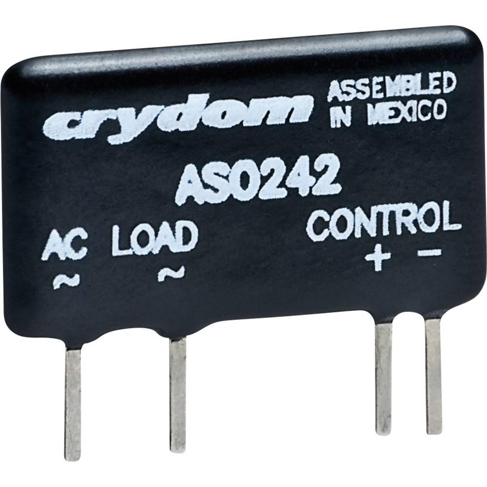 Halbleiterrelais (value.1292894) 1 stk Crydom ASO241 Last-Strøm (maks.): 1.5 A Koblingsspænding (max.): 280 V/AC Vekslende ved n