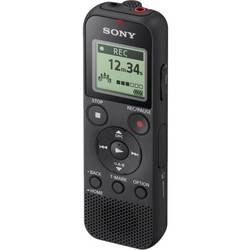 Digitalni diktafon Sony ICD-PX370 Vrijeme snimanja (maks.) 159 h Crna Utišavanje buke