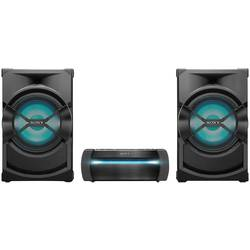 Stereo uređaj Sony Shake X30D Bluetooth, DVD, NFC, UKW, USB, Uklj. funkcija karaoke , Svjetlo raspoloženja Crna