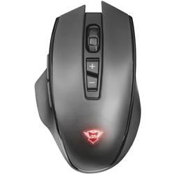 Trust GXT140 Manx Rechargeable Wireless gaming miš Optički Osvjetljen, Ponovo punjiv Crna