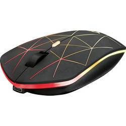 Trust GXT117 Strike Wireless gaming miš Optički Osvjetljen, Ponovo punjiv Crna