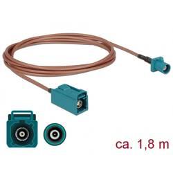 WLAN antene Priključni kabel [1x Fakra utikač - 1x Fakra utičnica] 1.8 m Delock