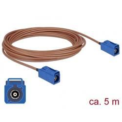 WLAN antene Priključni kabel [1x Fakra utičnica - 1x Fakra utičnica] 5 m Delock