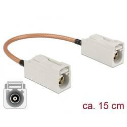 WLAN antene Priključni kabel [1x Fakra utičnica - 1x Fakra utičnica] 0.15 m Delock