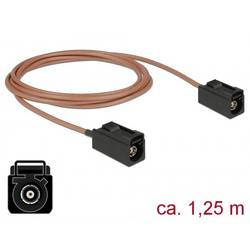 WLAN antene Priključni kabel [1x Fakra utičnica - 1x Fakra utičnica] 1.25 m Delock