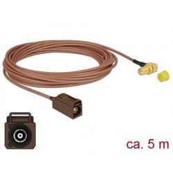 WLAN antene Priključni kabel [1x Fakra utičnica - 1x Ženski konektor SMA] 5 m Delock