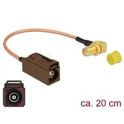 WLAN antene Priključni kabel [1x Fakra utičnica - 1x Ženski konektor SMA] 0.2 m Delock