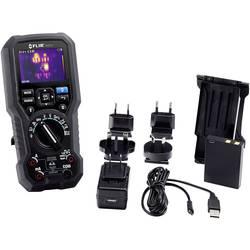 Ročni multimeter Digitalni FLIR DM284-KIT Integrirana termovizijska kamera, Grafični zaslon CAT III 1000 V, CAT IV 600 V