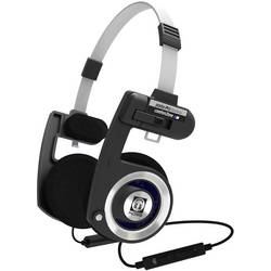 Bluetooth® Naglavne slušalke KOSS PORTAPRO Wireless On Ear Naglavni komplet, Kontrola glasnosti Črno-srebrna