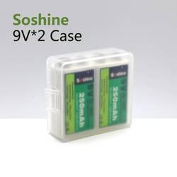Kutija baterija 9 V Block Soshine SBC-018 (D x Š x V) 54 x 52 x 19 mm