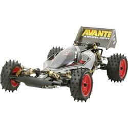 Tamiya Avante (2011) Black s ščetkami 1:10 RC Modeli avtomobilov Elektro Buggy 4WD Komplet za sestavljanje