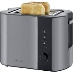toster s grijačem Severin AT 9541 sivo-metalik, crna