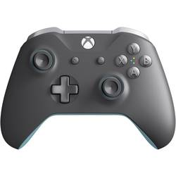 Igralna konzola gamepad Microsoft XBox Wireless Blue-Grey Xbox One, PC Siva, Modra