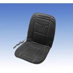 Unitec Ogrevana sedežna prevleka 12 V 2 toplotni nastavitvi Črna