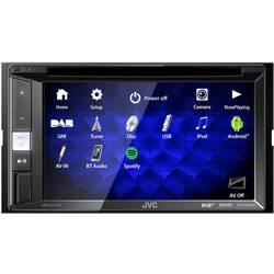 JVC KW-V255DBT Multimedijski predvajalnik Priključek za volanski daljinski upravljalnik, Priključek za vzvratno kamero