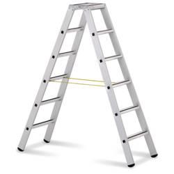 ZARGES 41306 aluminij dvokraka lestev s stopnico zložljiva 9.3 kg