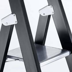 ZARGES Z600 41148 aluminij dvokraka lestev s stopnico zložljiva 10.6 kg