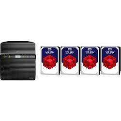 NAS strežnik 8 TB Synology DiskStation DS418J-8TB-RED Opremljen z WD RED