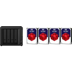 NAS strežnik 12 TB Synology DiskStation DS418play-12TB-RED Opremljen z WD RED