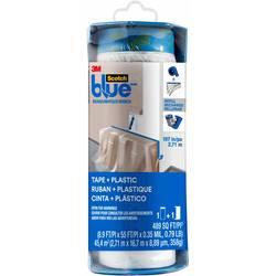 Prekrivna folija ScotchBlue™ Modra (D x Š) 17 m x 2.7 m 3M PTD2093EL-107 1 Role
