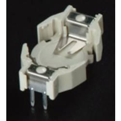 Nosilec gumbnih baterij 1 357, LR 44 Vodoravno, Vtična montaža THT (D x Š x V) 19.9 x 12 x 7.4 mm Takachi HU357
