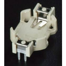 Nosilec gumbnih baterij 1 CR 1225 Vodoravno, Vtična montaža THT (D x Š x V) 20.3 x 12.7 x 4.5 mm Takachi HU1225