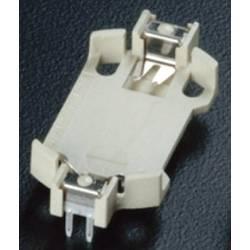 Nosilec gumbnih baterij 1 CR 2032 Vodoravno, Vtična montaža THT (D x Š x V) 28.5 x 16.1 x 5.2 mm Takachi HU2032