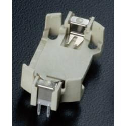 Nosilec gumbnih baterij 1 CR 2430 Vodoravno, Vtična montaža THT (D x Š x V) 33 x 16.1 x 4.7 mm Takachi HU2430