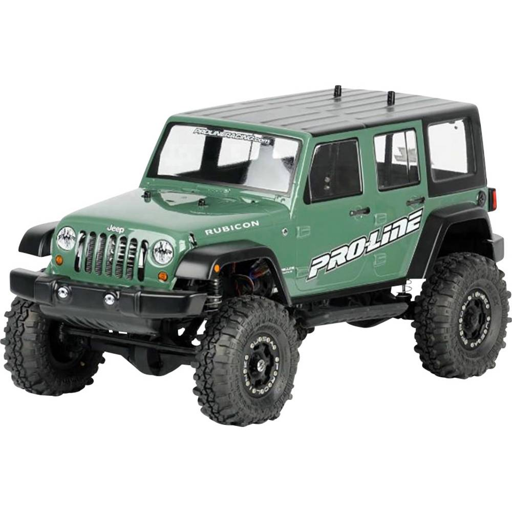 Pro-Line PRO-3336-00 1:10 Crawler karoserija Jeep Wrangler Unlimited Rubicon Nelakirana, neizrezana