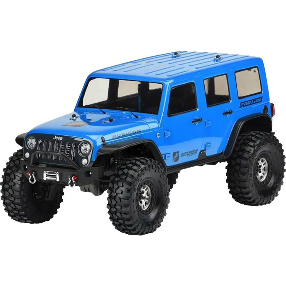 Pro-Line PRO-3502-00 1:10 crawler karoserija Jeep Wrangler Unlimited Rubicon Medosna razdalja 325 mm nelakirana, neizrezana