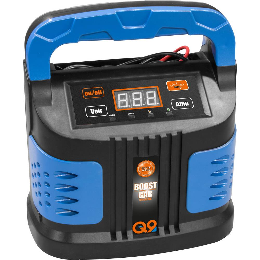 Avtomatski polniknik, Nadzorna naprava za akumulator, Polnilnik, Sistem za hitri zagon Guede GAB 12V/6V-10A Boost 85142 6 V, 12