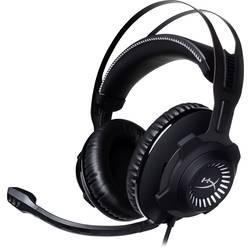 Igralni naglavni komplet 3,5 mm priključek Vrvične, Stereo HyperX Cloud Revolver Pro Over Ear Črna