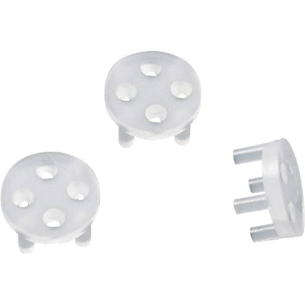 Tranzistorski distančni nosilec 1 kos TC-TRW5203 TRU Components primeren za ohišja polprevodnikov: TO-92 TO-39 raster: 3.6 mm (
