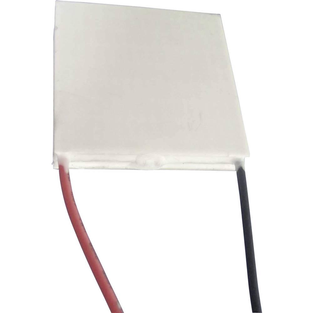 Peltier element, večnivojski 14.6 V 4.2 A 26 W (A x B/C x D/V) 40 x 40/40 x 40/8.1 mm TRU Components TEC2-127-63-04