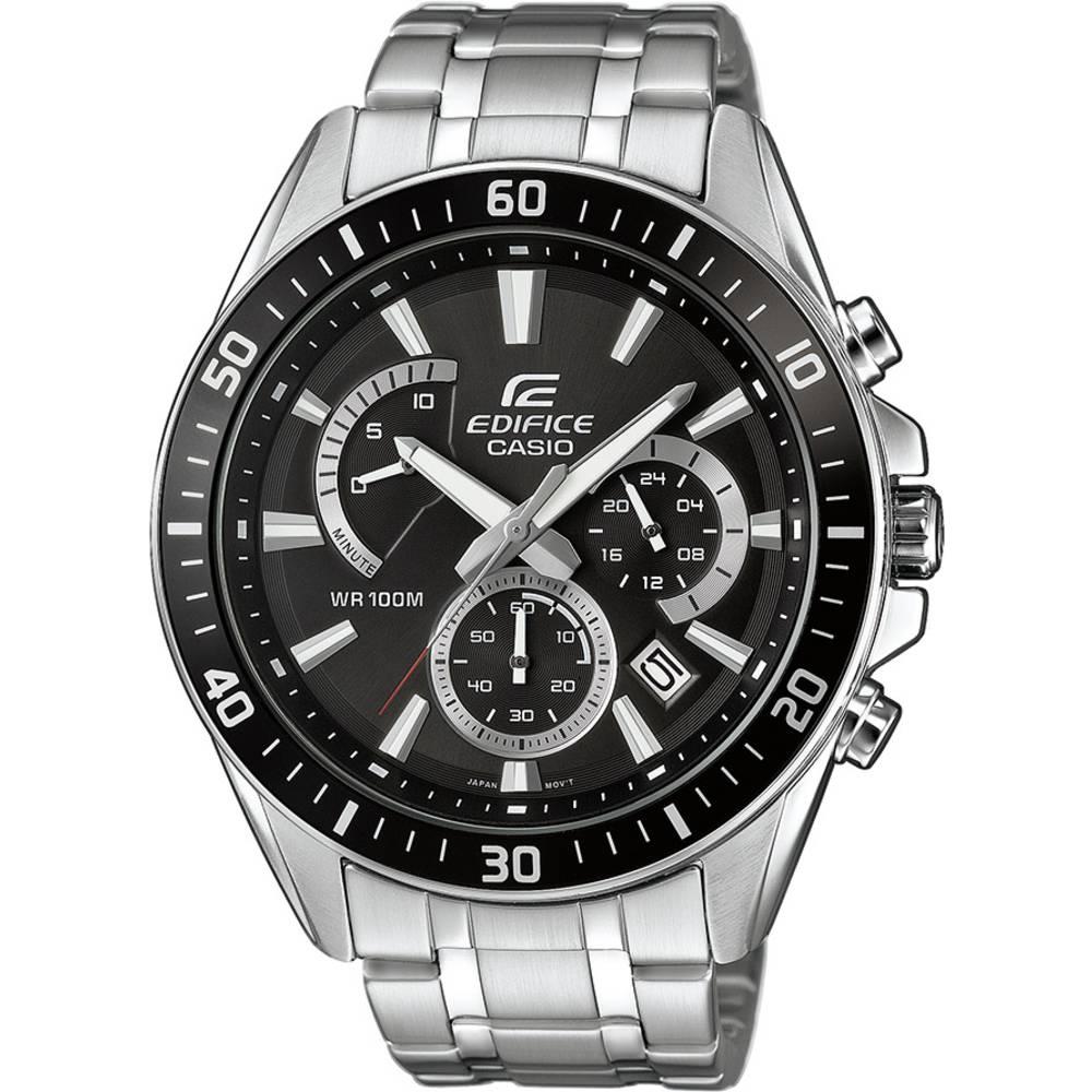 Kronografski Ručni sat EFR-552D-1AVUEF (D x Š x V) 53 x 47 x 12.3 mm Srebrna Materijal kućišta=Nehrđajući čelik Materijal (naruk
