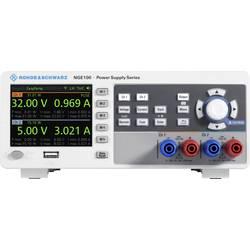 Laboratorijsko napajanje, podesivo Rohde & Schwarz NGE102B 0 - 32 V/DC 0 - 3 A 66 W USB OVP, Daljinsko kontrolirano Broj izlaza