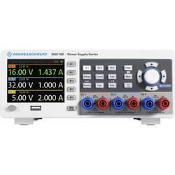 Laboratorijsko napajanje, podesivo Rohde & Schwarz NGE103B 0 - 32 V/DC 0 - 3 A 100 W USB OVP, Daljinsko kontrolirano Broj izlaza